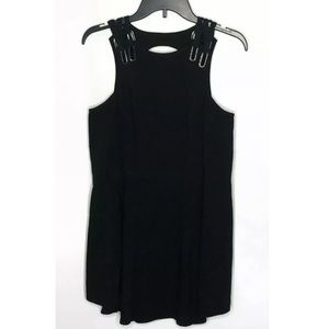 FREE PEOPLE $98 Baby Love Keyhole Dress Cut Out